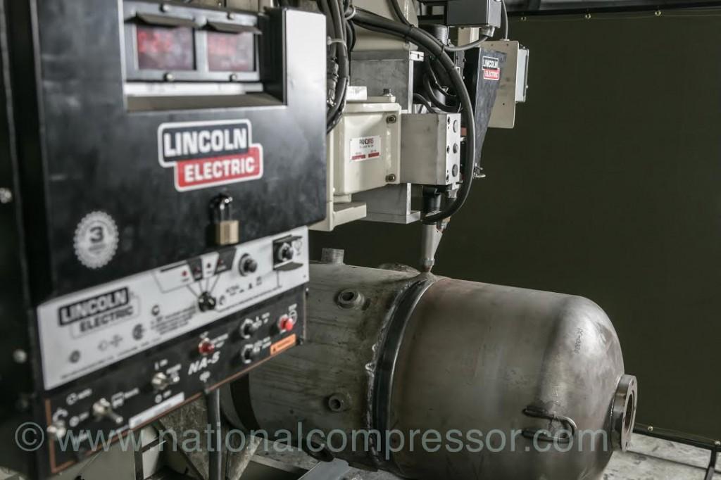 compressor welding